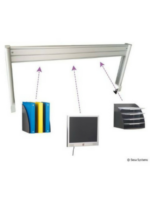 Structure aluminium ergonomique pour bureau
